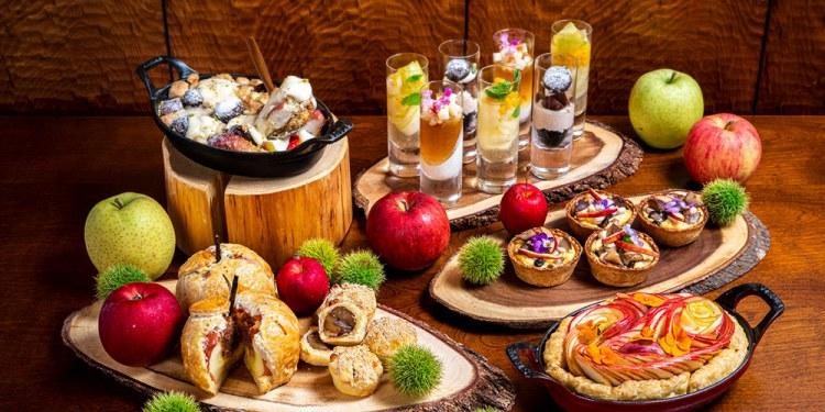 インターコンチネンタルホテル大阪「リンゴと栗のスイーツハーベスト」