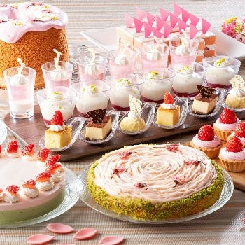 浦安ブライトンホテル東京ベイ ネオ・ビストロ・ビュッフェ~春の食彩&桜色Sweetsピクニックフェア~