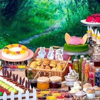 ヒルトン名古屋「ピーターラビット™のデザートブッフェ レイクサイドの秘密のお茶会」