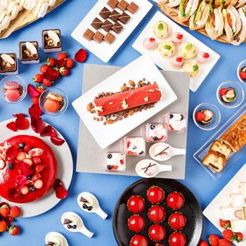 品川プリンスホテル「苺やチョコレートのスイーツブッフェ」