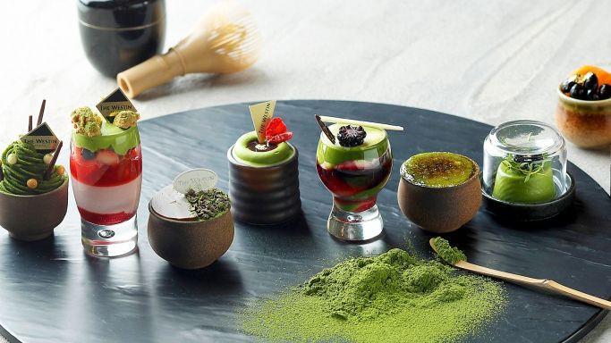 ウェスティンホテル東京「抹茶デザートブッフェ」