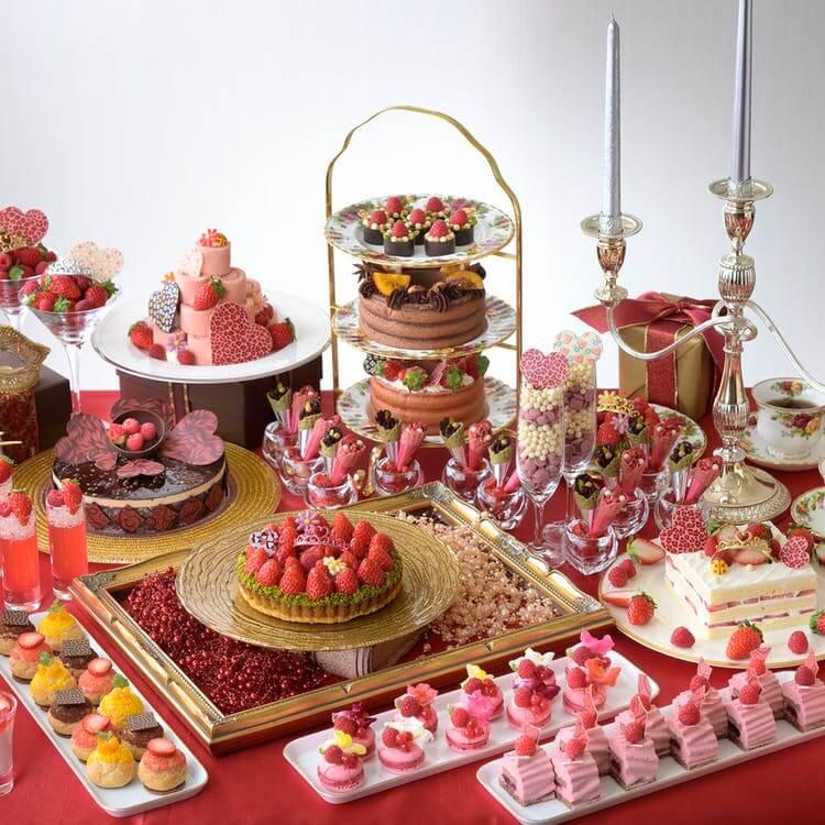 ANAクラウンプラザホテルグランコート名古屋「バレンタインスイーツコレクション~苺とショコラの甘い誘惑~」