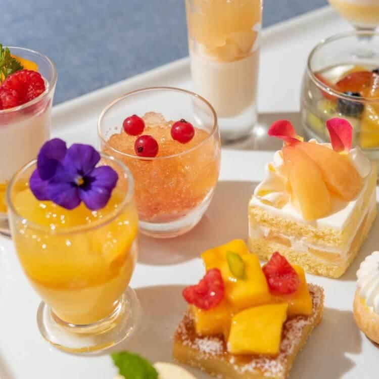 横浜ベイシェラトンホテル&タワーズ「ナイトスイーツブッフェ ~ピーチ×マンゴー~」
