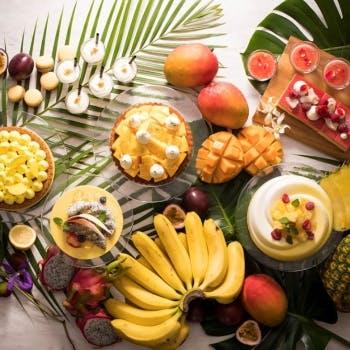 スイスホテル南海大阪「トロピカルスイーツブッフェ Swiss Chocoholic Tropical Buffet」