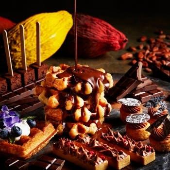 ザ・リッツ・カールトン大阪「チョコレートアフタヌーンブッフェ ベルギーチョコレートブッフェ」