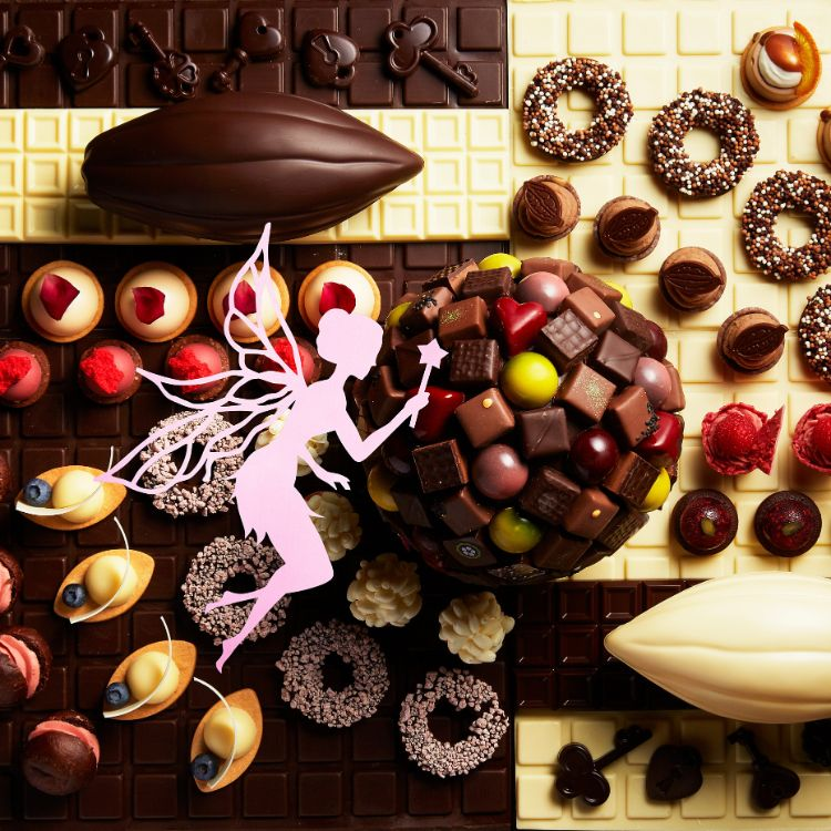ANAインターコンチネンタルホテル東京「チョコレートブッフェ チョコレートセンセーション」