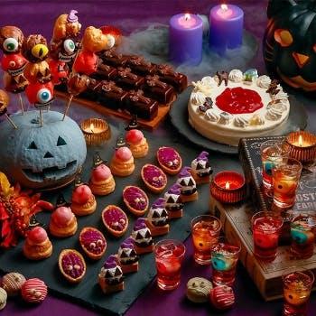 ホテルユニバーサルポート ヴィータ「秋の味覚とチーズフェア~ハロウィーンスイーツ~」