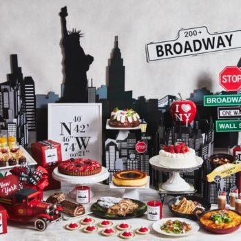 ストリングス表参道「ランチ&スイーツビュッフェ X'mas 2019 in New York」