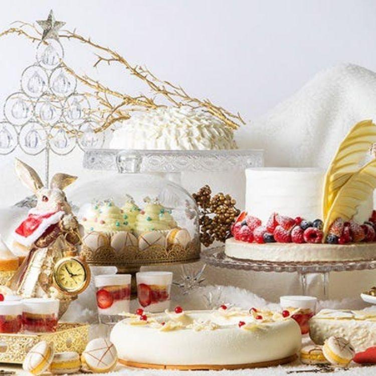 ヒルトン大阪「アリスのホワイトクリスマス~白いうさぎを追いかけて~」