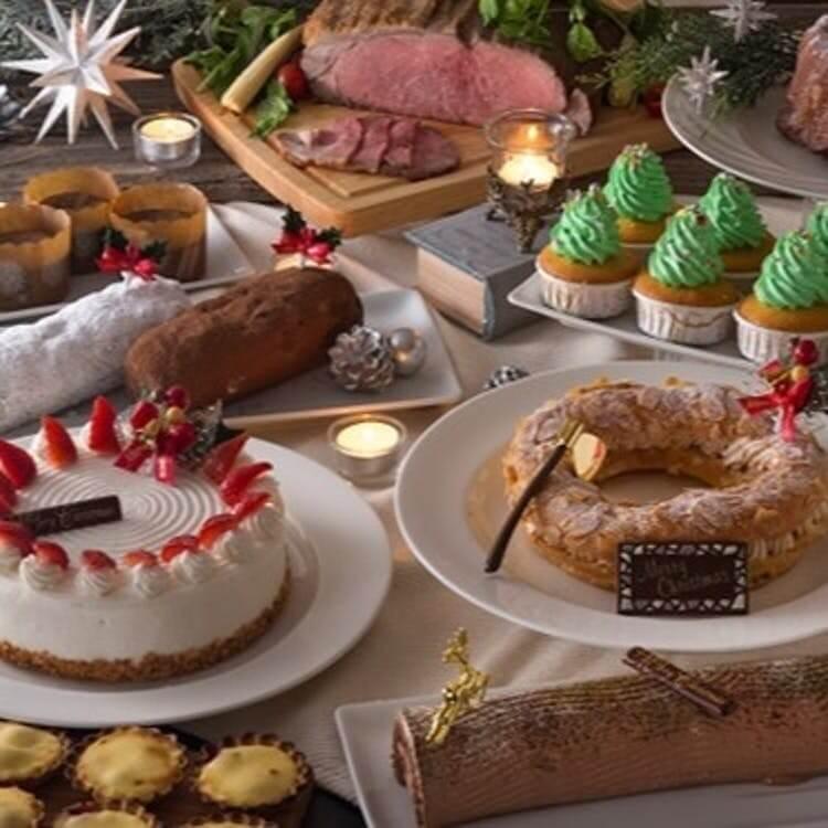 神戸ポートピアホテル「クリスマス ローストビーフ&スイーツブッフェ」