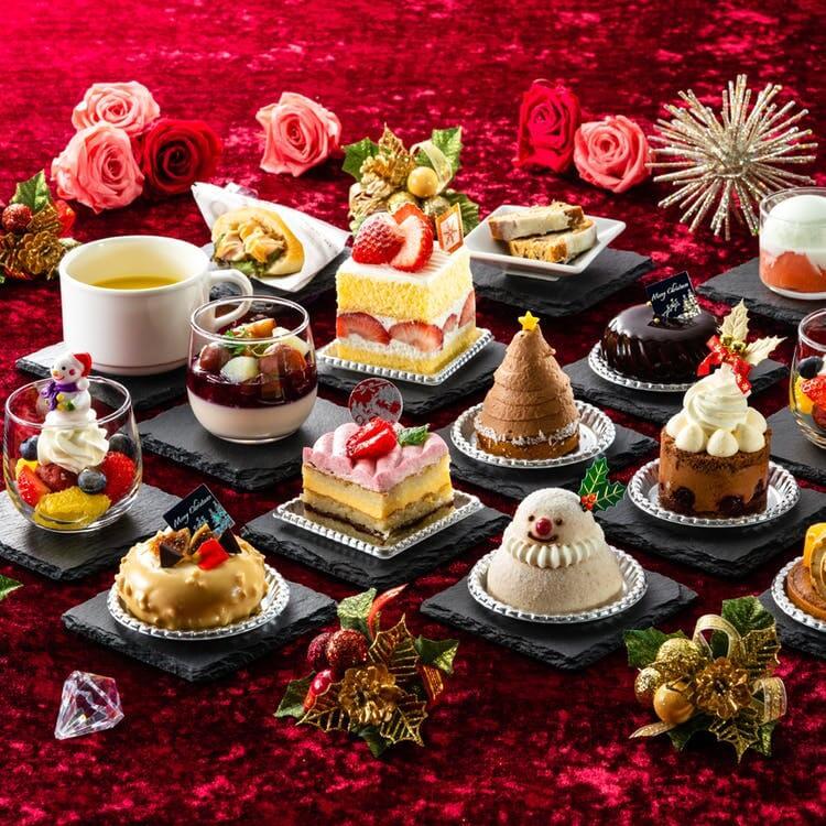 ホテル日航大阪「クリスマス! スイーツオーダーブッフェ」