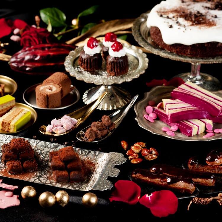 太閤園「チョコレートスイーツ&ランチビュッフェ ~Twinkle Sparkle~」