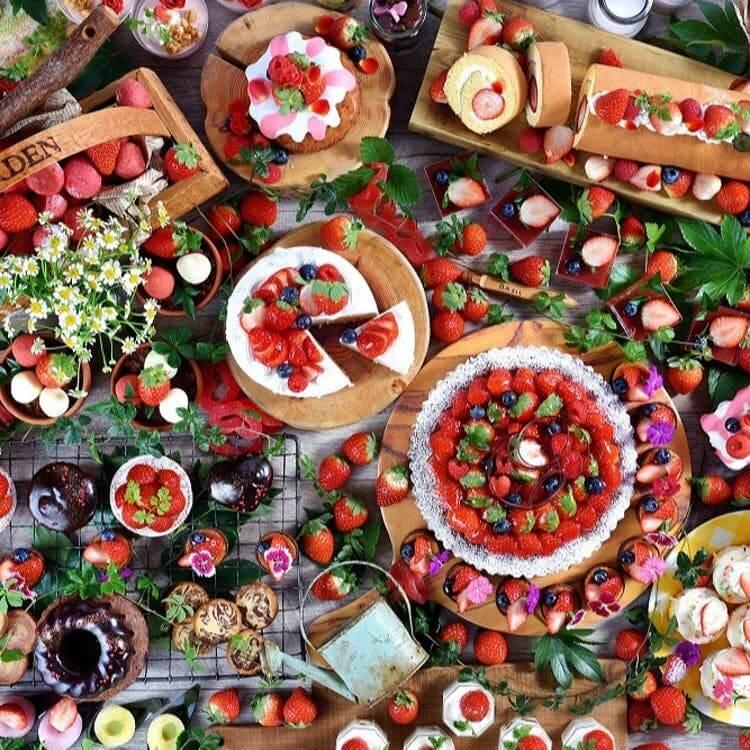 ANAクラウンプラザホテル神戸「ストロベリーデザートブッフェ Strawberry fields by Thomas ~トーマスさんのいちご畑~」