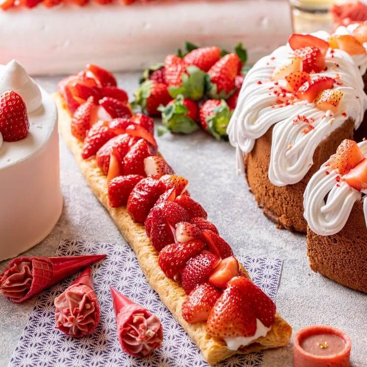 ヒルトン小田原リゾート&スパ「いちごだらけのデザートビュッフェ ~Very Berry Strawberries~」