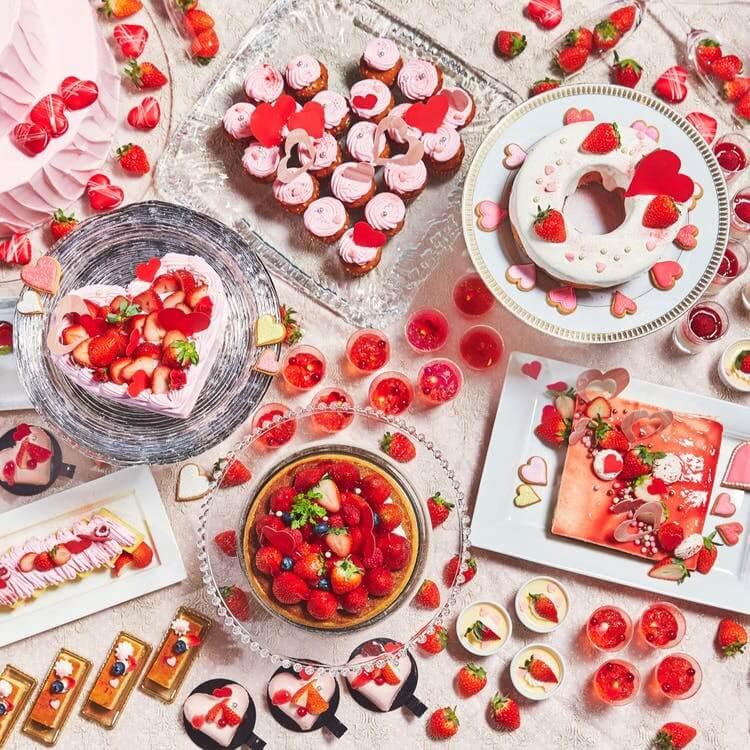 リストランテマンジャーレ 伊勢山「恋する苺のデザートブッフェ2020」