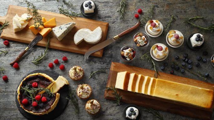 ウェスティンホテル東京「チーズデザートブッフェ」