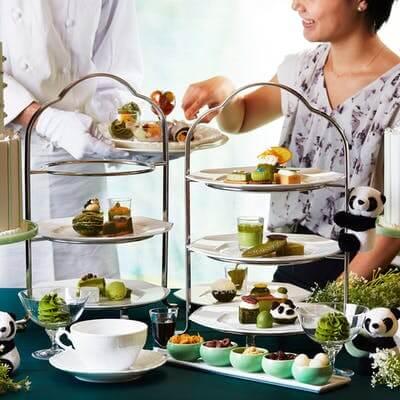 ANAインターコンチネンタルホテル東京「抹茶スイーツブッフェ」