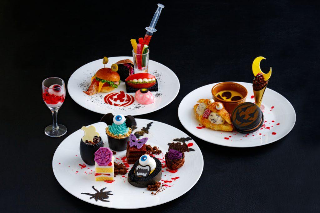 ANAクラウンプラザホテル大阪「ハロウィンスイーツフェア〜モンスターパレード〜」
