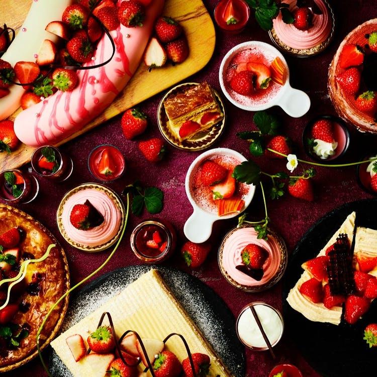 "ANAクラウンプラザホテル神戸「ストロベリーデザートブッフェ ""Go To Strawberry""」"