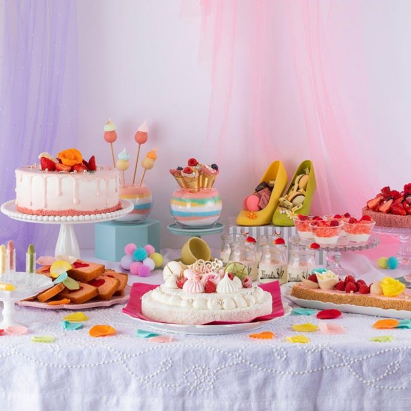 スイスホテル南海大阪「~Pastel Girly Collection パステル ガーリーコレクション~ スイーツブッフェ」