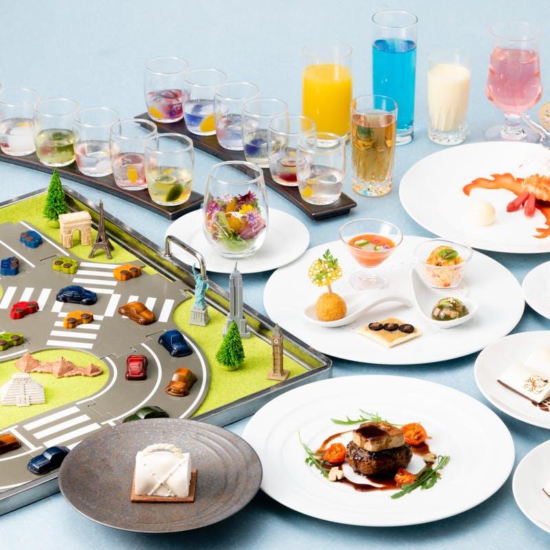 ホテルグランヴィア大阪「スイーツとフォアグラハンバーグの贅沢Wコース」