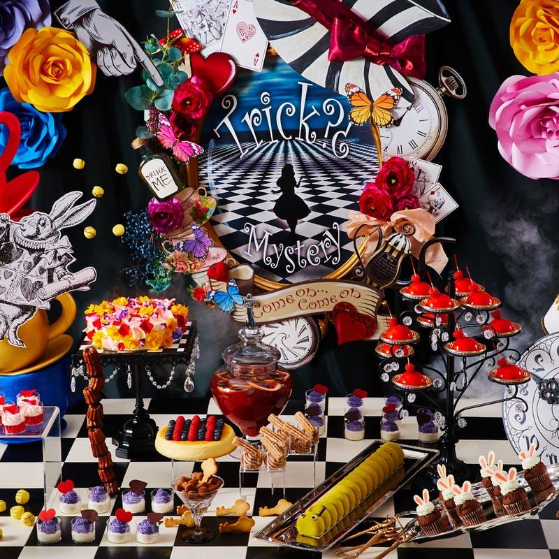インターコンチネンタル 東京ベイ「アリス in トリックミステリー ~不思議の国のスイーツティーパーティー~」