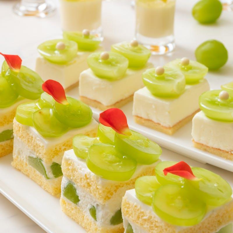 横浜ベイシェラトンホテル&タワーズ「スイーツオーダーブッフェ Sweets Parade~シャインマスカット&マロン~」