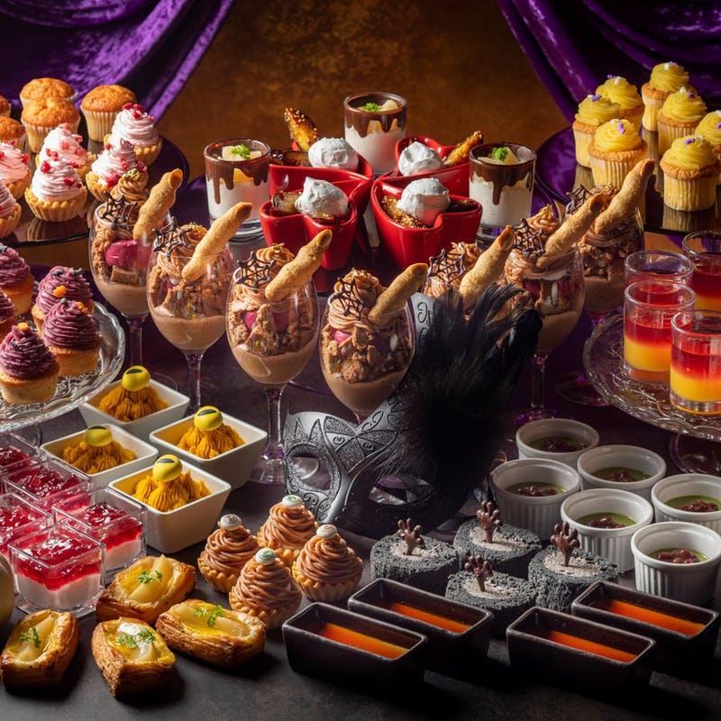 ヒルトン小田原リゾート&スパ「Halloween Dessert Buffet 2021 魅惑のモンブラン」