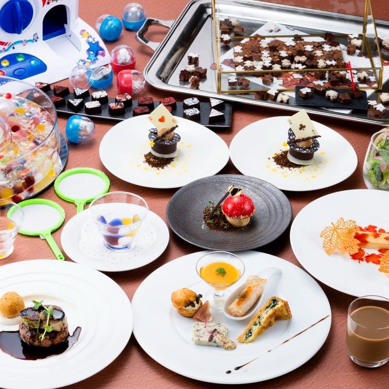ホテルグランヴィア大阪「パティシエが手がけるスイーツのおもちゃとフォアグラの贅沢Wコース」