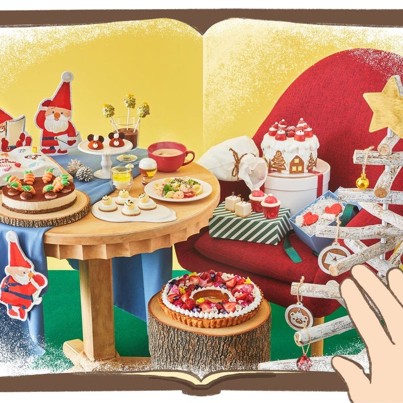 ヒルトン東京ベイ「クリスマスデザートビュッフェ Dear Santa」