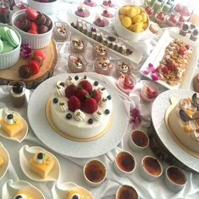 ストリングスホテル 名古屋 シェフズ ライブ キッチン「季節デザート&ライトミールブッフェ