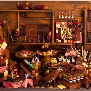 ヒルトン福岡シーホーク「妖精たちのチョコレート工場 -Fairies' Chocolate Factory -」