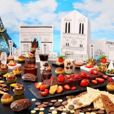 ANAクラウンプラザホテル福岡「SWEETS in PARIS ~チョコレートパラダイス~」