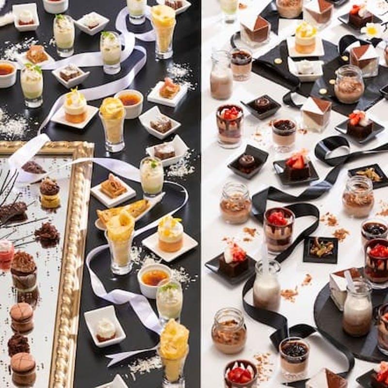 ANAクラウンプラザホテル福岡「チョコレートデザートビュッフェ ~ノワール エ ブラン~」