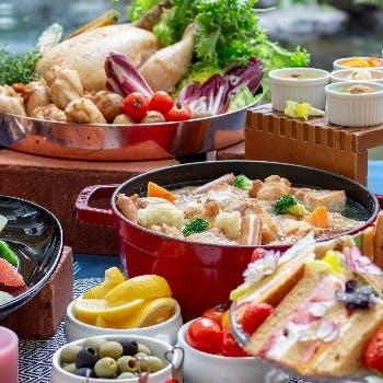ウェスティンホテル大阪 FRUITS meet MEAT メインディッシュ付ランチビュッフェ