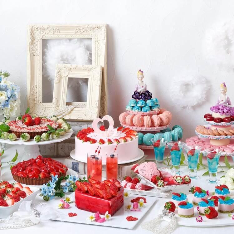 琵琶湖ホテル「スーパースイーツブッフェ~Strawberry Wedding~ 」