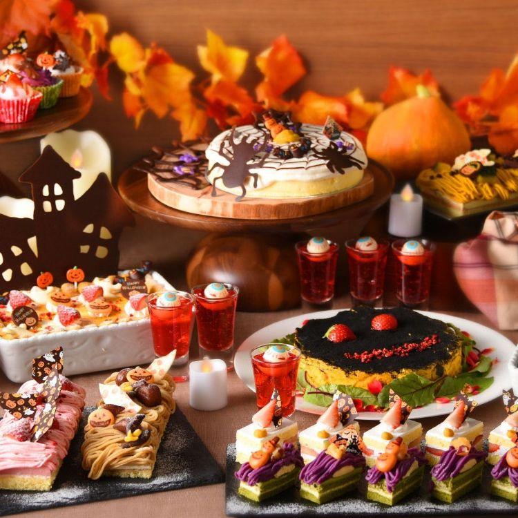 グランドプリンスホテル広島「秋のいちごブッフェ~ハロウィーン~」