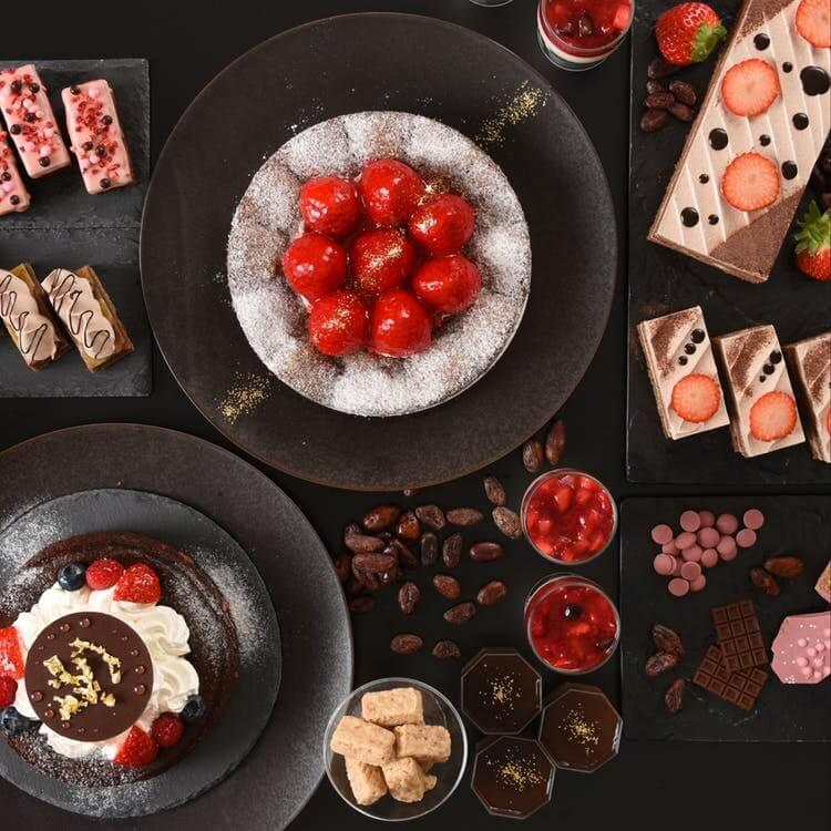 グランドプリンスホテル広島「冬のランチ&スイーツブッフェ~Strawberry&Chocolate~」