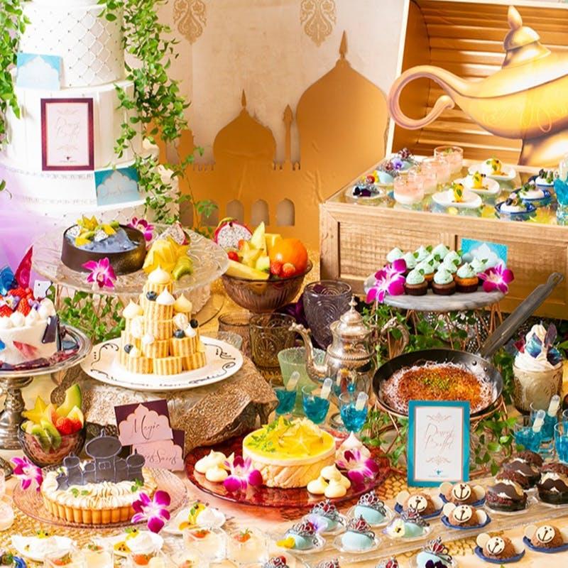 大宮璃宮 四季庭「アラジンと魔法のランプ ランチ&スイーツタイム」