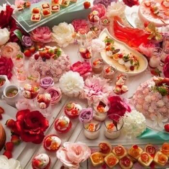 びわ湖大津プリンスホテル「Cheers! Strawberry Buffet 花咲くいちごパーティー」<