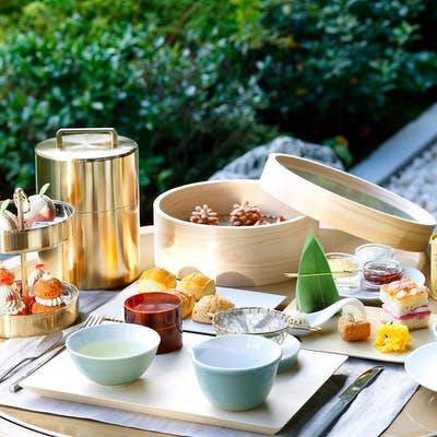 HOTEL THE MITSUI KYOTO「伝統工藝に触れながら愉しむ アフタヌーンティ-セット