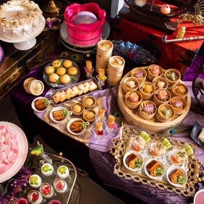 ヒルトン東京 中国料理 王朝「西太后、楊貴妃、マリー・アントワネット3大妃の点心&スイーツ食べ放題」
