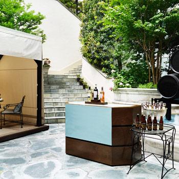 ガーデンテラスで楽しむビアガーデン「アーリーサマーガーデン」/ザ・リッツカールトン大阪