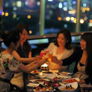 ホテル最上階の絶景で楽しむフリーフロー/ホテルニューオータニ大阪
