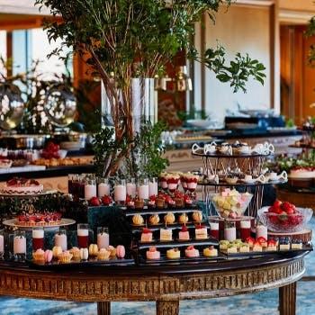 ホテル椿山荘東京のいちごビュッフェ「森のストロベリーパーティー」