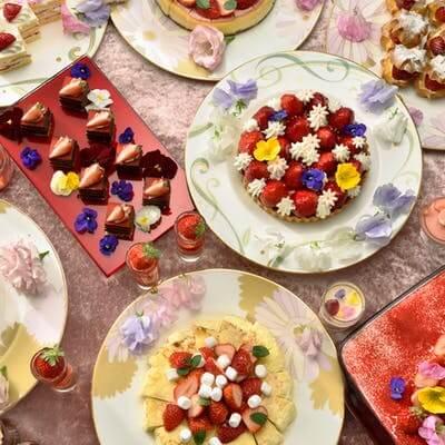 品川プリンスホテル「Strawberry with Flowers」