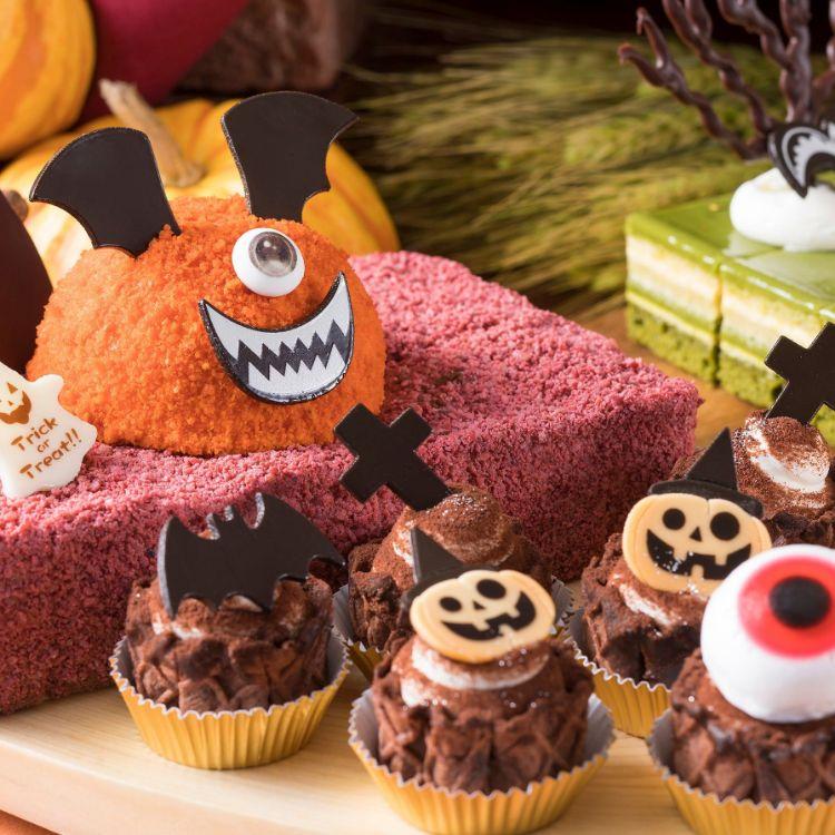 スイスホテル南海大阪「ハロウィン スイーツビュッフェ Swiss Chocoholic Halloween Buffet」