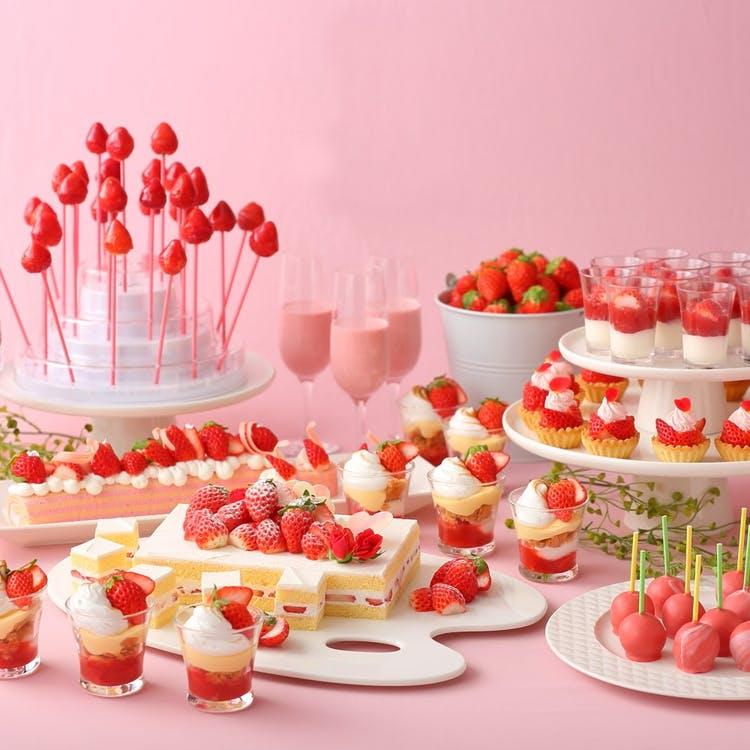 名古屋プリンスホテル スカイタワー「Strawberry Lunch buffet」
