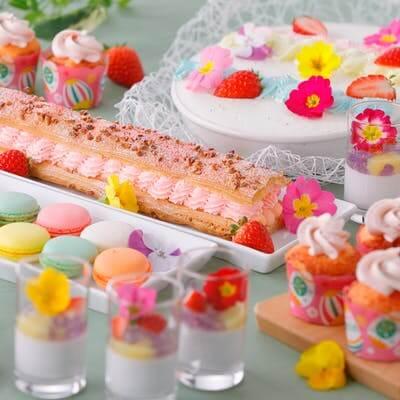 名古屋東急ホテル「4月 いちごプランタン スイーツ&デリカブッフェ」