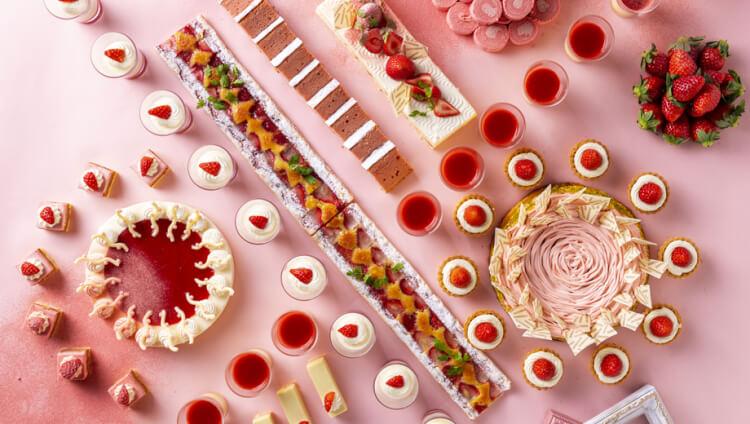 浦安ブライトンホテル東京ベイ「ネオ・ビストロ・ビュッフェ ~グルメの宴&ストロベリーミュージアム~」